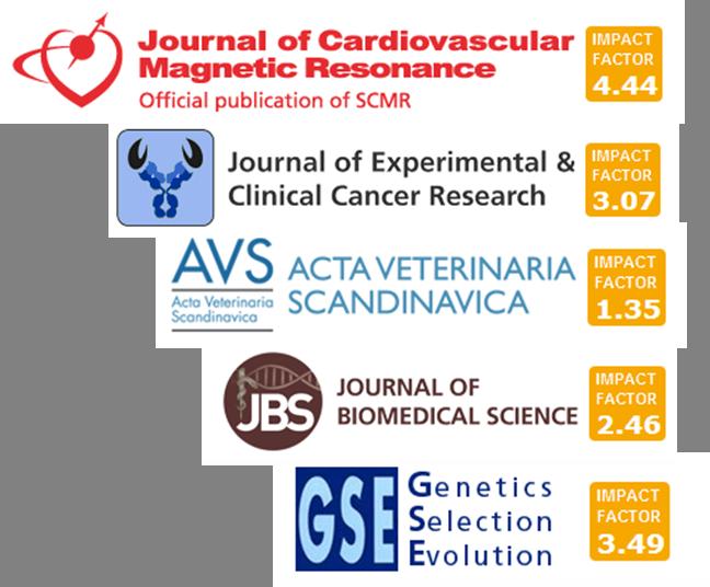 Logos for BioMed Central journals
