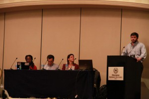 Nick Shockey at the Open Access to Research Panel at IFMSA March Meeting 2013, Baltimore, USA.