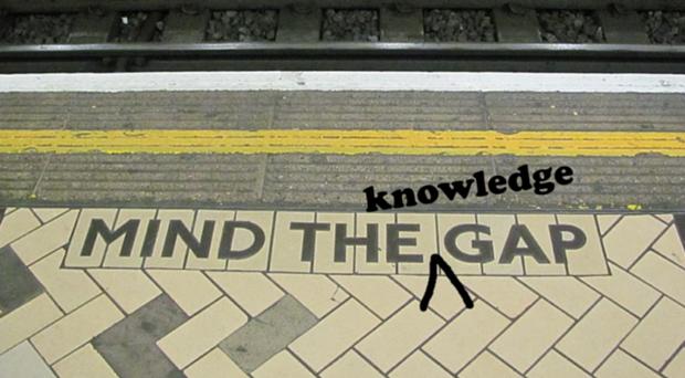 Open access - mind the gap
