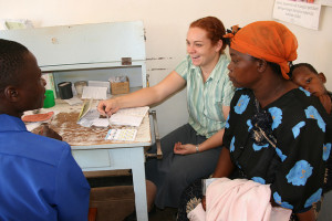 Doctor's surgery, Malawi