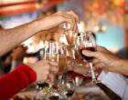 Celebratory drink