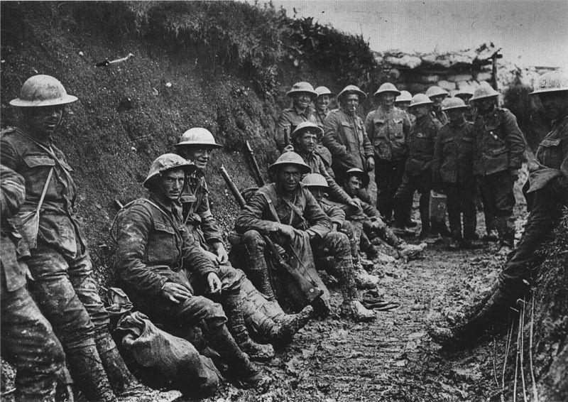 Royal Irish Rifles, Somme 1916 (photo:UK Government)