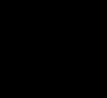 Structure of artemisinin. Source Wikki commons