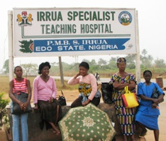 Irrua Specialist Teaching Hospital in Edo State, Nigeria Image: https://vhfc.org/consortium/partners/isth