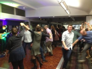 A very successful gala dinner and ceilidh. Image Credit J. Fuller