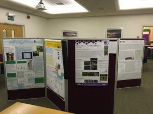 Poster displays in the Foresight Centre, at the VBD Meeting 2016