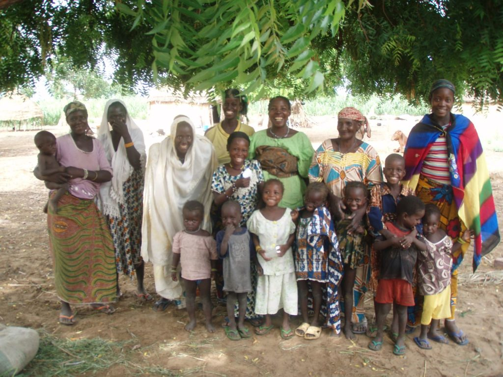 This is one family where the women have stayed at home to take care of their children
