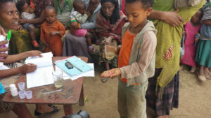 Mass drug administration of azithromycin for trachoma control in Ethiopia