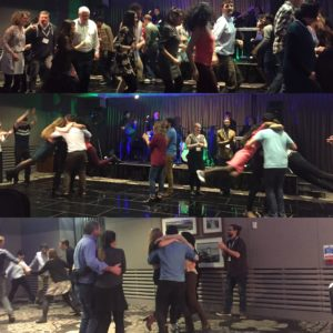 The traditional BSP ceilidh in full swing. Picture courtesy of @lford_louise