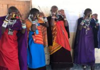 Maasai women health ambassadors