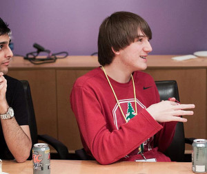 Jack andraka in 2013. Photo by Benjamin Quinto