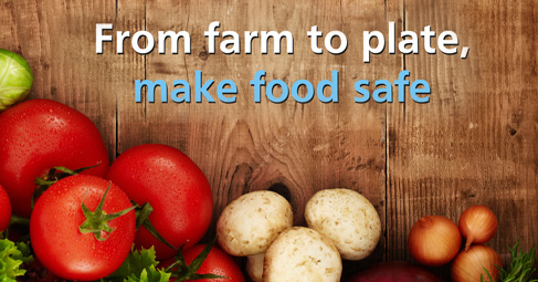 World Health Day 2015: from farm to plate, make food safe