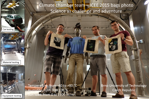 The climate chamber team from Brno University of Technology