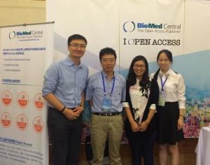 BMC staff with Prof Tianzhen Zhang