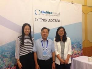 BMC staff with Prof Huanming Yang