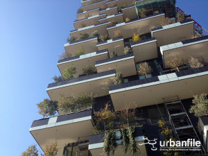 Stefano Boeri's vision of vertical forests is coming to fruition in Milan.