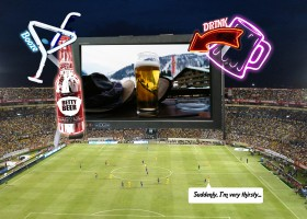 football and advertising