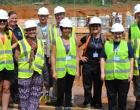 Ebola diagnostic center team