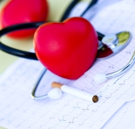 heart and stethoscope crop square