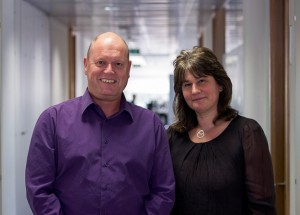 Co-Editors-in-Chief Richard Stephens (left) and Sophie Staniszewska (right)