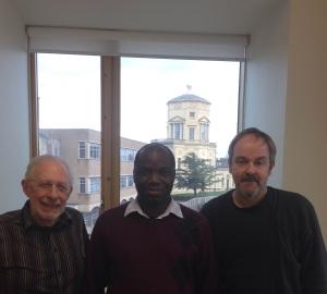 L-R: Jeffrey Aronson, Igho Onakpoya, Carl Heneghan