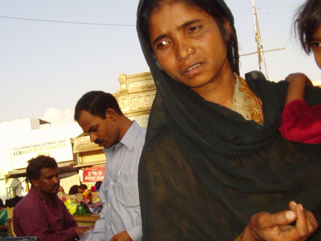 Pregnancy in poor sanitation