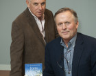 Neal Kassell, MD, Chairman of the Focused Ultrasound Foundation with John Grisham