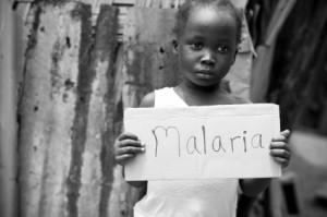 Malaria child