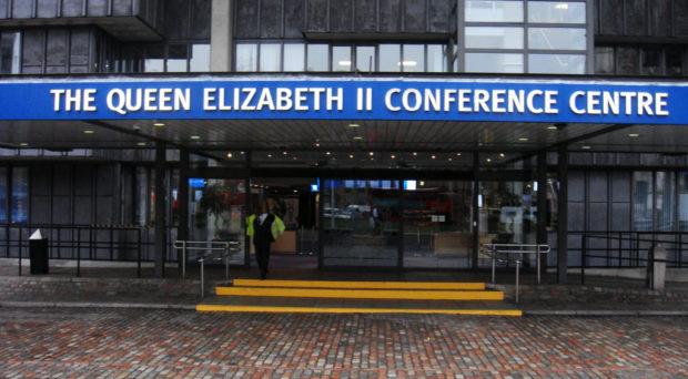 Front of Queen Elizabeth II Centre